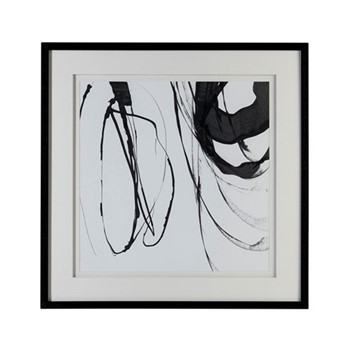 Whimsical Abstraction Framed print, W68 x H68 x D3cm