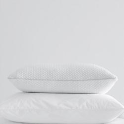 Memory Foam Comfort Pillow, 50 x 75cm, white