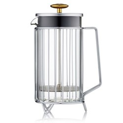 Corral 8 cup coffee press, steel