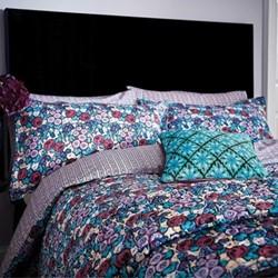 Twilight Garden Double duvet cover, L200 x W200cm, lavender
