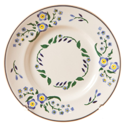 Forget Me Not Side plate, D19cm