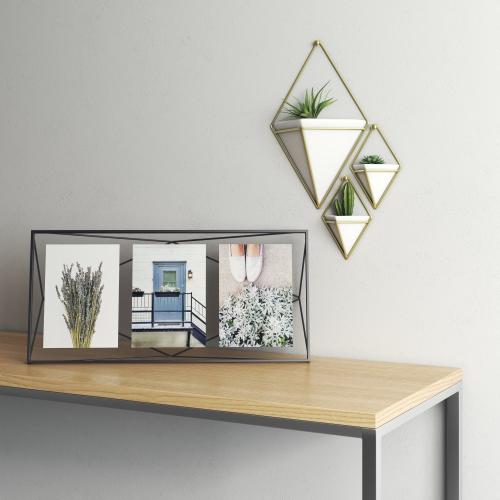 Prisma Photo frame, 48 x 23 x 8cm, black