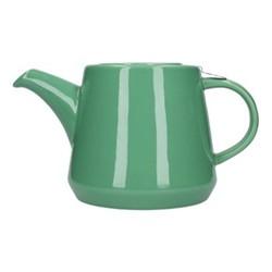 Hi-T 2 cup teapot, H11 x D12cm, green