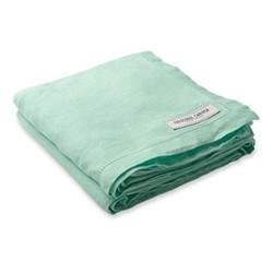 Linen beach towel, mint