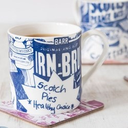 Scottish Breakfast Mug, 8.5 x 9cm