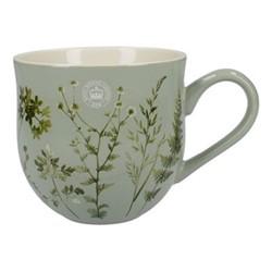 Richmond - Watercolour Meadow Mug, H10cm - 500ml, green