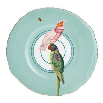 Parrot Set of 6 dessert plates, 22cm