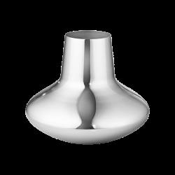 Henning Koppel Medium vase, H18.5 x D22.5cm, Silver