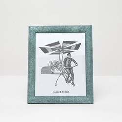"Oxford Photograph frame, 8 x 10"", turquoise"