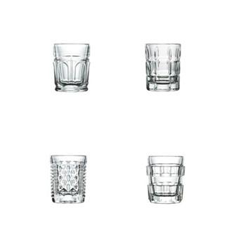 After Set of 4 shot glasses, 5cm, clear