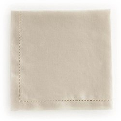 Florence Pair of napkins, 45 x 45cm, cream