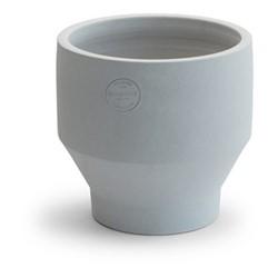 Edge Indoor pot, Dia18 x H18cm, light grey