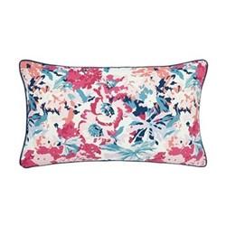 Cottage Garden Border Stripe Cushion, L50 x W30 x H10cm, multi