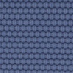 Rope Polypropylene indoor/outdoor rug, W45 x L61cm, denim