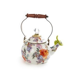 Flower Market Whistling kettle, multi