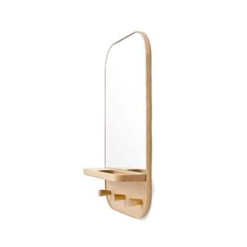 Storage mirror H73.5 x W41 x D13.5cm