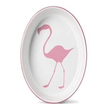 Flamingo Oval baking dish, 34cm