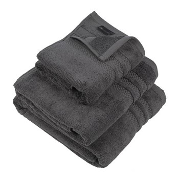 Egyptian Cotton Bath towel, W70 x L125cm, charcoal