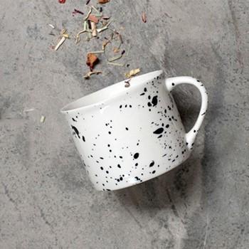 Ama Short mug, D6.5 x 8cm, splatter