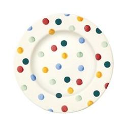 Polka Dot Plate, 22.1cm