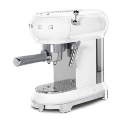 50's Retro Espresso Coffee Machine, White