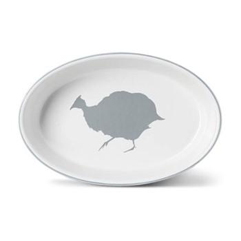 Guinea Fowl Oval baking dish, 28cm