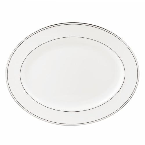 Federal Platinum Oval platter, 41cm