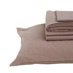 King size bedding set, champagne pink