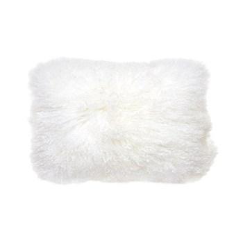 Mongolian Mongolian lumbar pillow, White