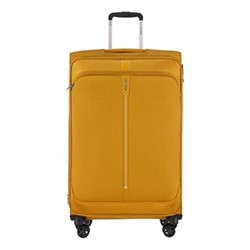 Popsoda Spinner expandable suitcase, 78 x 48 x 31/34cm, yellow