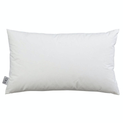Duck feather-filled cushion pad, 60 x 35cm