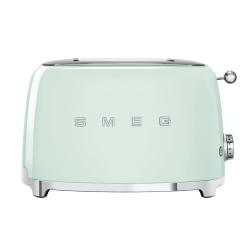 50's Retro 2 slice toaster, Pastel Green