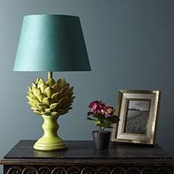 Artur Large table lamp - base only, H38 x 23cm, leaf crackle glaze