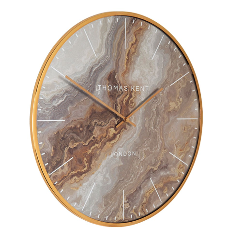 Oyster Wall clock, Dia66cm, Bronze