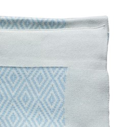 Baby blanket, W90 x L120cm, blue