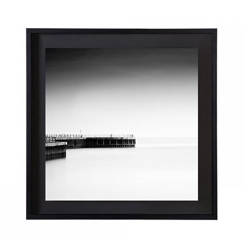 Framed photographic print with deckled edge 25.4 x 25.4cm