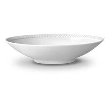 Corde Large coupe bowl, 37cm, white
