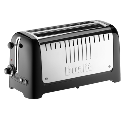Lite 2 slot toaster, black
