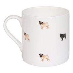 Pug Life! Mug, 275ml, multi
