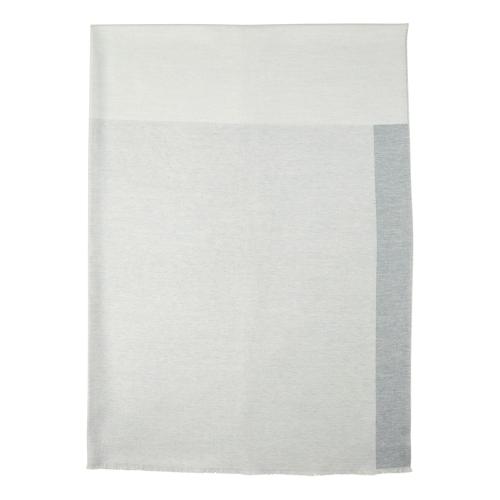 Colour Patchwork Merino throw, 190 x 140cm, Silver/Grey/Charcoal