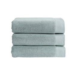 Luxe Pair of bath towels, 76 x 137cm, surf