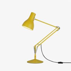 Type 75 - Margaret Howell Desk lamp, Yellow Ochre
