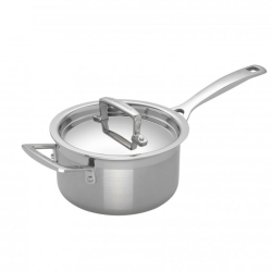 3 Ply Stainless Steel - Uncoated Saucepan, 16cm - 1.9 litre