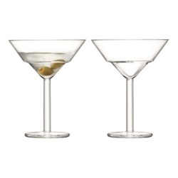 Mixologist Pair of martini glasses, 23cl