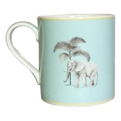 Harlequin - Blue Elephant Mug, blue