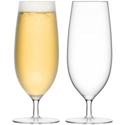 Bar Set of 2 pilsner glass, 450ml, clear