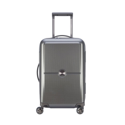 Turenne 4-Double wheel cabin trolley case, 55cm, Silver