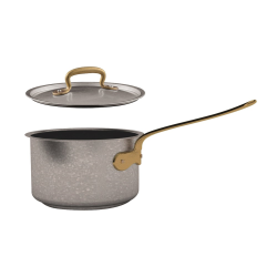 1965 Vintage Sauce pan, 1.9 litre - D16 x H9.5cm, Stainless Steel