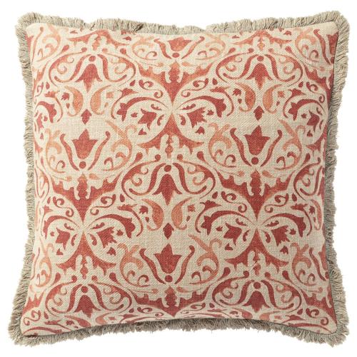 Nassau Cushion cover, L51 x W51cm, Washed Rust