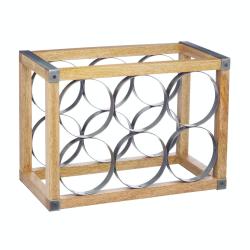 Industrial Kitchen Wine rack, 34 x 17.5 x 24.5cm